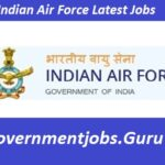 2020 Latest Indian Air Force Recruitment - Career Indian Air Force