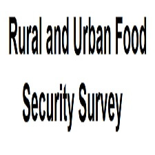 Rural and Urban Food Security Survey